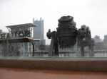 While waiting for the Duck Boat Tour on Tuesday morning, we did a little sightseeing on the Pittsburgh waterfront.