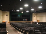 The newly renovated auditorium is beautiful.  New everything!