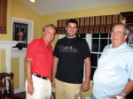 ESPN play-by-play NASCAR announcer, Marty Reid, aka Marty Klingeman '71, had dinner with AJ Dewey '04 and retired CD t