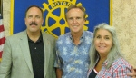 Marty also spoke at the Colonial Park Rotary Club meeting on Aug. 4 as a guest of Rotary President Jeff Hoachlander '74