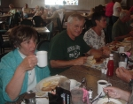 Bev Bosak, John Bricker, Betty Miller - July 2011