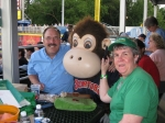 Jeff Hoachlander and Karen Mummert look like there's a little monkey business going on!