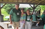 Part of CD Ram-Jam-2013 Album.  Terry Lenker '60, wife Barb, and Bonnie Kapp Johnston '60.