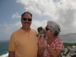 Jeff & Debbie Hoachlander.  (No, we didn't bring the monkey home!)